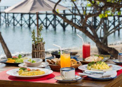 NBM3 DINING Breakfast Setup NusaBay Menjangan