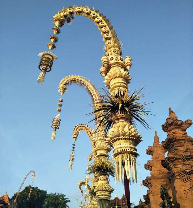 "Bali's Mystical ""Penjor"""